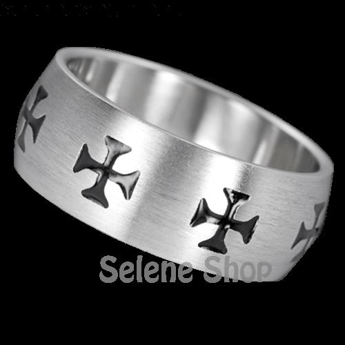 anello croce celtica
